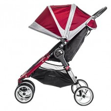 Dvīņu Rati Baby Jogger City Mini Crimson/Gray