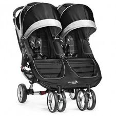 Коляска Для Близнецов Baby Jogger City Mini Black/Gray