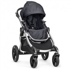 Bērnu Pastaigu Ratiņi Baby Jogger City Select Silver Titanium