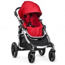 Спортивная Коляска Baby Jogger City Select Silver Ruby Red