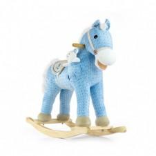 Bērnu Šūpulis-Zirdziņš Milly Mally Pony Blue