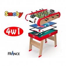 Игровой Стол Smoby 4In1 64001