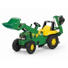 Трактор На Педалях Rolly Toys Junior John Deere 811076