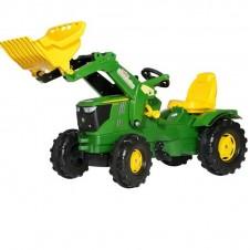 Трактор На Педалях Rolly Toys Farmtrac John Deere 611096
