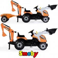 Трактор На Педалях Smoby Max 710110