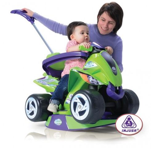 Bērnu Stumjama Mašīna Injusa Quad Goliath 6In1 137