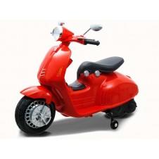 Электромобиль Jokomi Vespa Pa0139 Red