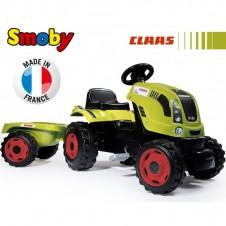 Bērnu Traktors Ar Pedaļam Smoby Farmer Xl Ar Piekabi 710114