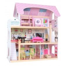 Koka Leļļu Mājiņa Eko Toys Residence