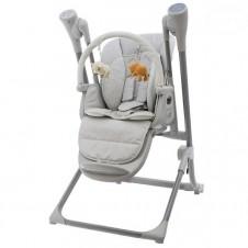 Barošanas Krēsls - Šūpoles Euro Baby Grey
