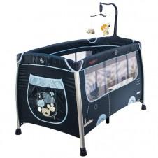 Манеж-Кровать Euro Baby Путешествие Синий