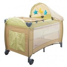 Манеж-Кровать Euro Baby Сон Кремовый