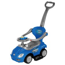 Bērnu Stumjama Mašīna Euro Baby Megacar Blue