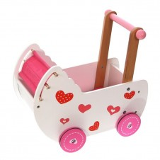 Деревянная Коляска Для Кукол Eko Toys