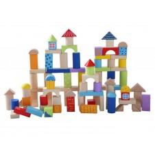 Деревянные Кубики Eko Toys 100 Шт.