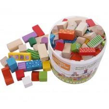 Деревянные Кубики Eko Toys 50 Шт.