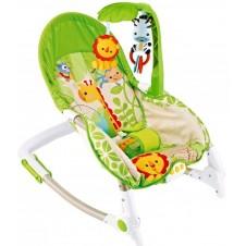 Šūpuļkrēsls Eko Toys Lion With Zebra