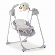 Качели Chicco Polly Swing Up Silver