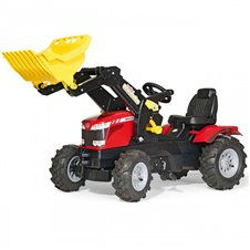 Трактор На Педалях Rolly Toys Farmtrack Massey Fergusson 611140