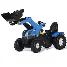 Трактор На Педалях Rolly Toys Farmtrac New Holland 611256