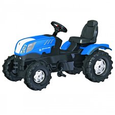 Трактор На Педалях Rolly Toys Farmtrack New Holland 601295
