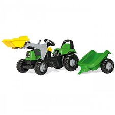 Трактор На Педалях Rolly Toys Kid Deutz-Fahr 023196