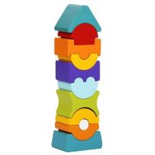 Набор Кубиков Cubika Гибкая Башня 9