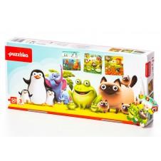 Puzzle Puzzlika Mīļākie Dzīvnieki