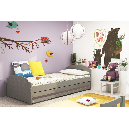 Bērnu gulta LILI 200*90 ar kasti