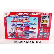Garāža Automašīnām ar trase 1101I081