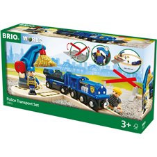 Komplekts BRIO Police 33812