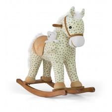 Bērnu Šūpulis-Zirdziņš Milly Mally Pony Gray Dot