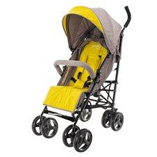 Bērnu Lietussarga Tipa Sporta Ratiņi EuroBABY Smart Pro Cream-Yellow