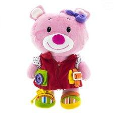 Plīša Rotaļlieta EuroBABY Pink Bear