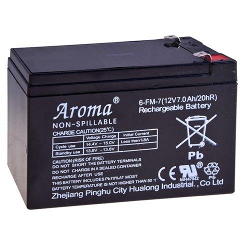 Gēla akumulators 12V 7Ah SER043