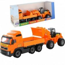 Automobilių rinkinys Wader Volvo ir traktorius 36865