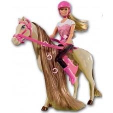 Lėlė SIMBA Steffi su arkliu 5730939