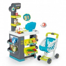 Parduotuvė SMOBY su vežimėliu 350212