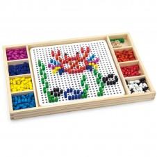 Koka Puzzle spēle VIGA 2in1 59990
