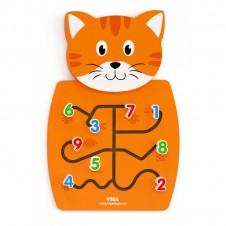 Sieninis žaidimas VIGA Katinas su skaičiais 50676