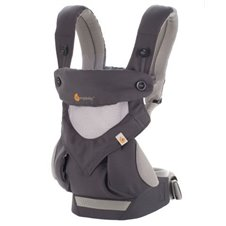 Ķengursoma ERGOBABY 360 Cool Air Carbon grey