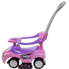 Bērnu Stumjama Mašīna Sun Baby MegaCar Pink