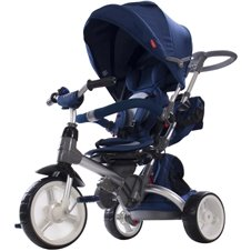 Rowerek trójkołowy Little Tiger - niebieski