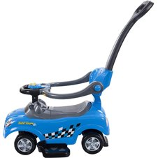 Bērnu Stumjama Mašīna Sun Baby Quick Coupe Blue