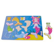 Koka Puzzle spēle Sun Baby Mermaid