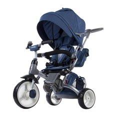 Bērnu Trīsritenis ar grozāmu sēdekli Sun Baby Little Tiger Blue