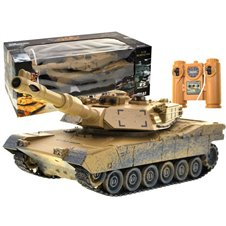 Controlled TANK M1A2 desert camouflage RC0374