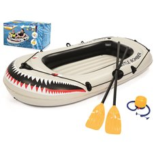 Bestway inflatable dinghy 1.88m paddle pump 61108
