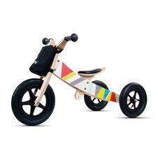 Rowerek biegowy drewniany 2w1 Twist Classic Black Edition
