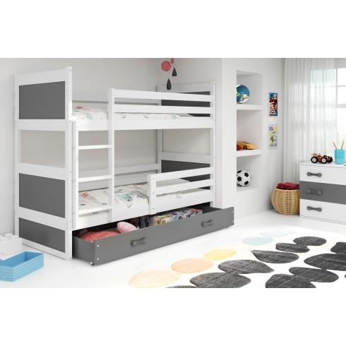 Двухъярусная кровать Rico 190*80 с ящиком